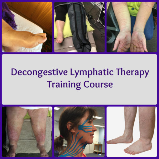 Decongestive Lymphatic Therapy (DLT) Course. Visit the website for more information and other locations