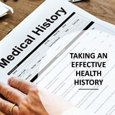 Taking an effective health history